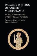 Women s Writing of Ancient Mesopotamia