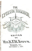 The Lyceum Banner