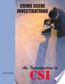 Crime Scene Investigation Book