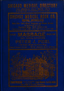 Chicago Medical Blue Book Book