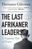 Books - Last Afrikaner Leaders, The | ISBN 9780624049715