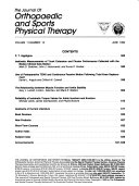 The Journal Of Orthopaedic And Sports Physical Therapy Book PDF