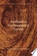 Handbook of the Theosophical Current Book