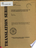 Treatment of Radioactive Waste with Ion Exchange Membrane Electrodialyzer Book