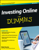 """""""Investing Online For Dummies"""" by Matthew Krantz"""