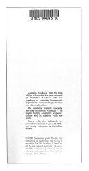 Australia Handbook
