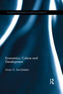 Economics, Culture and Development