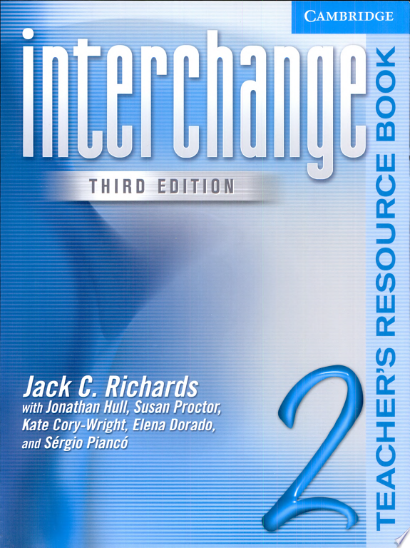 Interchange Teacher s Resource