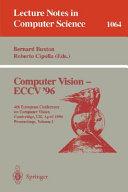 Computer Vision   ECCV 96