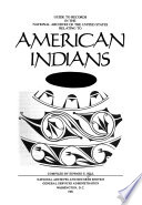 Guide To Records In The National Archives Of The United States Relating To American Indians