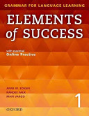 Elements of Success 1: Student Book with Essential Online Practice