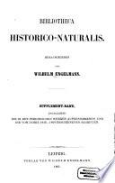 Bibliotheca historico-naturalis