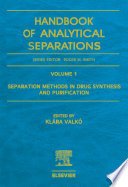 Separation Methods In Drug Synthesis And Purification Book PDF