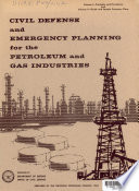 Civil Defense Emergency Planning for the Petroleum and Gas Industries Book