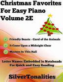 Christmas Favorites for Easy Piano Volume 2 E