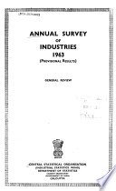 Annual Survey of Industries
