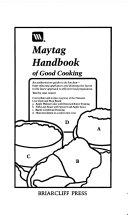 Maytag Handbook of Good Cooking