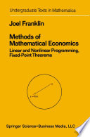 Methods Of Mathematical Economics