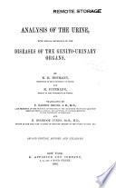 Analysis of the Urine