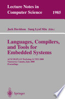 Languages Compilers And Tools For Embedded Systems Book PDF