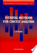 Interval Methods for Circuit Analysis