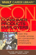 Vault Guide to the Top Consumer Products Employers