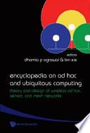 Encyclopedia on Ad Hoc and Ubiquitous Computing Book