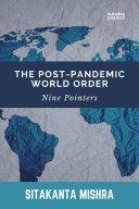 The Post-Pandemic World Order Pdf/ePub eBook