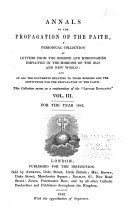 Annals of the Propagation of the Faith