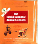 The Indian Journal of Animal Sciences Book