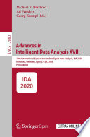 Advances In Intelligent Data Analysis Xviii Book PDF