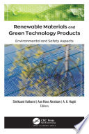 Renewable Materials and Green Technology Products