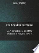 The Sheldon magazine