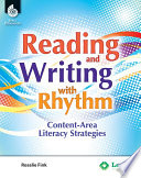 Reading  Writing  and Rhythm  Engaging Content Area Literacy Strategies Book