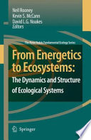 Book Cover: From Energetics to Ecosystems