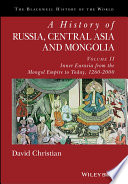 A History of Russia  Central Asia and Mongolia  Volume II Book