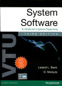 System Software An Introduction To Systems Programming For Vtu 3 E