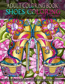 Adult Coloring Book - Shoes Coloring
