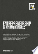 Entrepreneurship in Bitumen Business