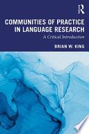 Communities of Practice in Language Research