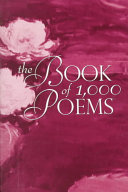 Pdf The Book of 1,000 Poems