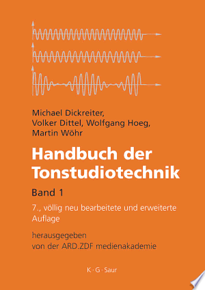 Download Handbuch der Tonstudiotechnik Free Books - Read Books