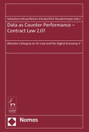 Data as Counter Performance   Contract Law 2 0