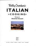 Betty Crocker s Italian Cooking