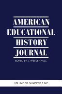 American Educational History Journal Pdf/ePub eBook