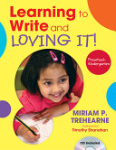Learning to Write and Loving It  Preschool  Kindergarten