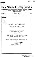 New Mexico Library Bulletin