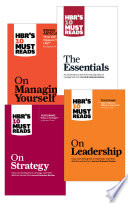 """HBR's 10 Must Reads Collection (12 Books)"" by Harvard Business Review, Peter F. Drucker, Clayton M. Christensen, Daniel Goleman, Michael E. Porter"