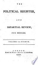 The Political Register And Impartial Review Of New Books