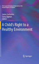 A Child s Right to a Healthy Environment